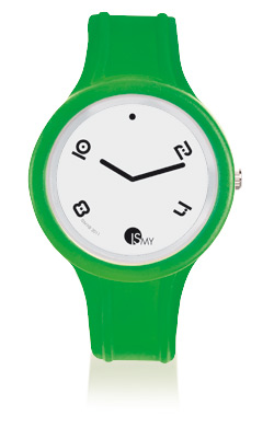 Green Translucent Sport Watch