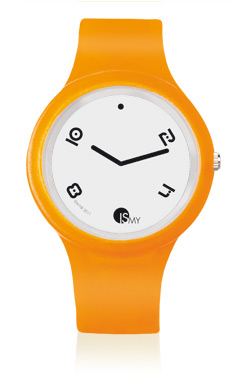 Orange Fashion Translucent Watch