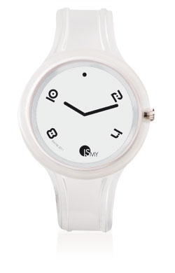 White Transparent Sport Watch