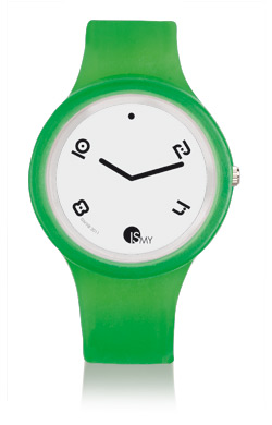 Green Fashion Translucent Watch