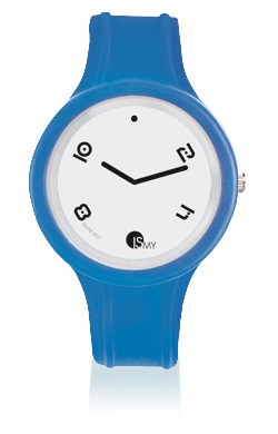 Blu Translucent Sport Watch