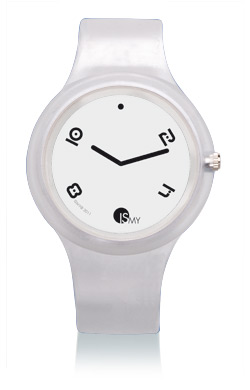 White Fashion Translucent Watch