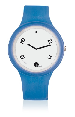 Traslucent Jeans Watch-Rubber Strap | Clock MADE IN ITALY