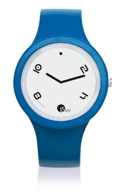 Blue Jeans Fashion Watch-Rubber Strap | Clock MADE IN ITALY