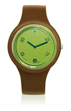 Brown Fashion Watch-Rubber Strap | Clock MADE IN ITALY
