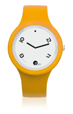Orologio Giallo Papaya Fashion - Cinturino in Gomma |MADE IN ITALY