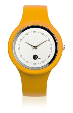 Orologio Giallo Papaya Fashion