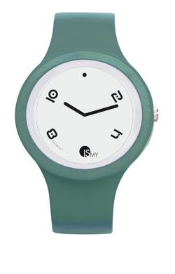 Water Blue Fashion Watch-Rubber Strap | Clock MADE IN ITALY