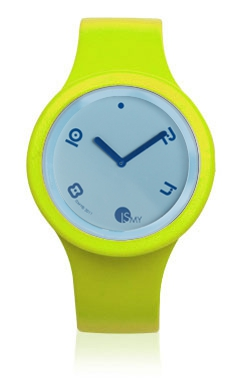 Yellow Fluo Watch